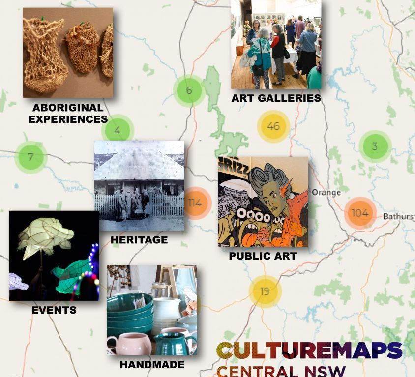 Culture Maps Central NSW