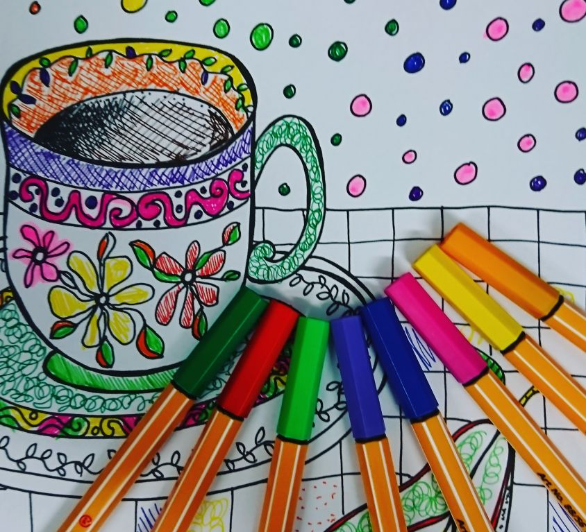 Colouring Books for Hospitals