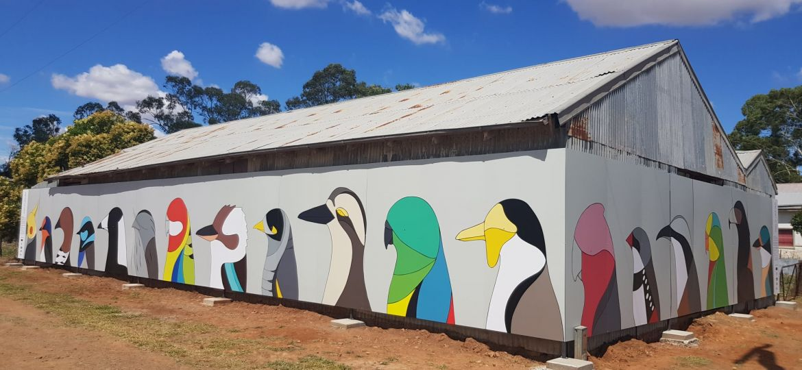 Caragabal Bird Art near Grenfell NSW
