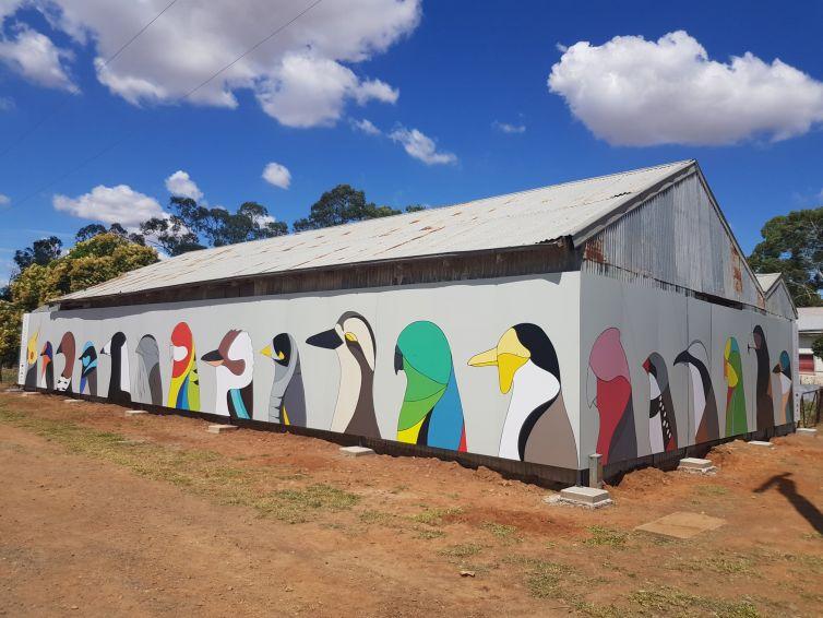 Caragabal Bird Art near Grenfell NSW
