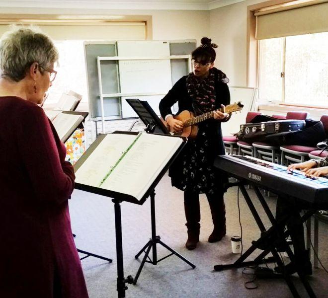 Seymour Centre Bathurst. Wellbeing Choir. Arts OutWest.