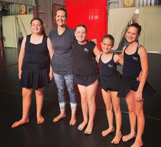 Parkes School of Dance Ange French and students