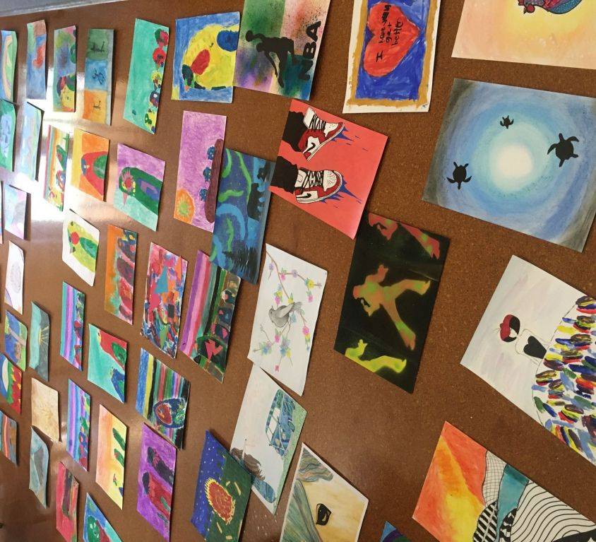 JOY: Kids art for Trundle MPS