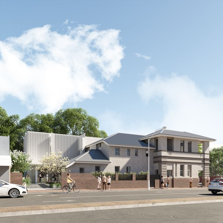 Exterior Render - Lachlan Street, Forbes NSW